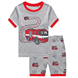 Boys Short Pyjamas Set Dinosaur ...