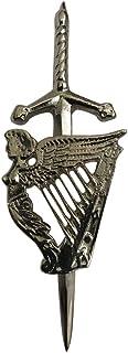 """Scottish Harp Kilt Pin Top Quality Finish 4"""""""