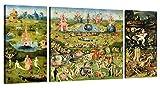 LuxHomeDecor Wandbild, Darstellung Hieronymus Bosch, Der