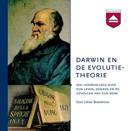 Darwin en de evolutietheorie audiobook cover art