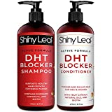 DHT Blocker Shampoo and Conditioner for Hair Loss With Biotin For Men, Women, Anti-Hair Loss Treatment, Rosemary and Green Tea Extracts, for Thinning Hair and Hair Loss (Shampoo and Conditioner)