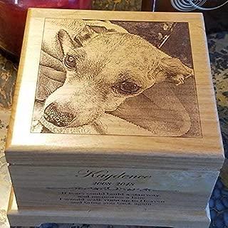 Pet urn for dog, custom pet cremation urn for ashes, dog urn, pet loss gift, dog lover gifts dog memorial, pet urn