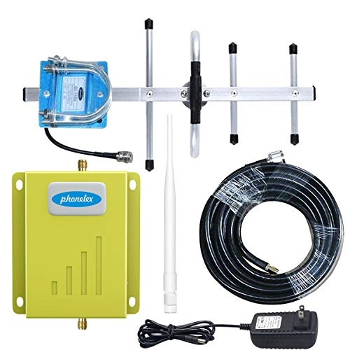 Cell Phone Signal Booster for Verizon Cell Signal Booster Amplifier Repeater with The Indoor Antennas for Home