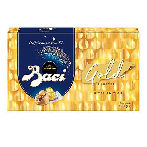Baci® Perugina® Praline Box Gold Limited Edition Karamell 150 g - 12 Baci Pralinen