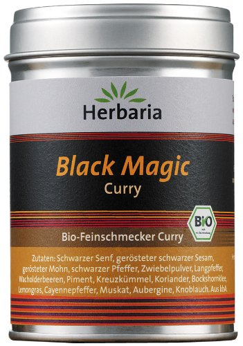 "Herbaria ""Black Magic"" Curry, 1er Pack (1 x 80 g Dose) - Bio"