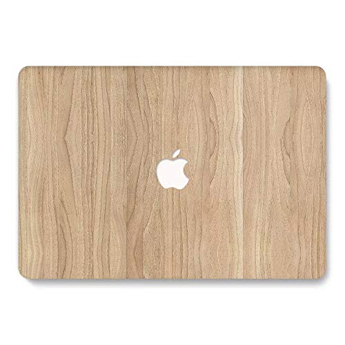 MacBook Retina 12 inch Case 2015/2016/2017 Ver A1534, Jiehb Plastic Hard Shell Case Only Compatible MacBook 12 inch with Retina Display Model: A1534 - Wood