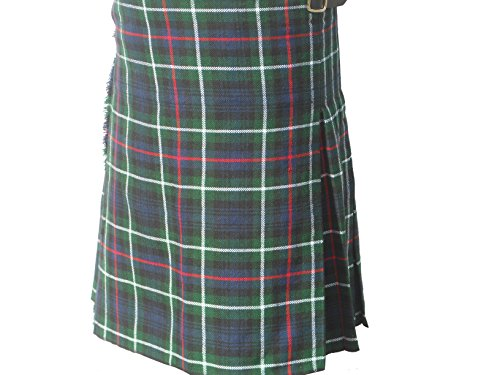 "Drummer Tartan Kilt, Scottish, Tartan, Mackenzie, 22"" to 60"" Waist Avialable"
