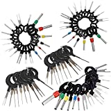 Eihan 70Pcs/Set Pin Ejector Wire Kit Extractor Auto Terminal Removal Connector Portable