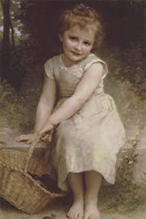 Plums by William Adolphe Bouguereau Art Print, 10 x 15 inches