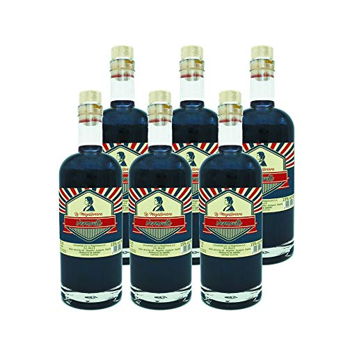 La Magallonera Vino Dulce Vermouth - Variedad Garnacha - 15% - 6 botellas x 750 ml