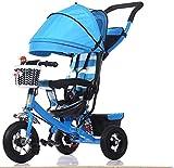 1-3 años de edad bebé triciclo infantil bebé cochecito cochecito cochecito ligero plegable buggy coche carro 3 rueda bicicleta niño niños trike carruaje