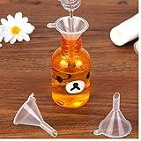 Zonster New 10pcsMini transparente Plastiktrichter Hopper Küche KochZubehör Gadgets Parfüm Emulsion Verpackung Hilfsmittel