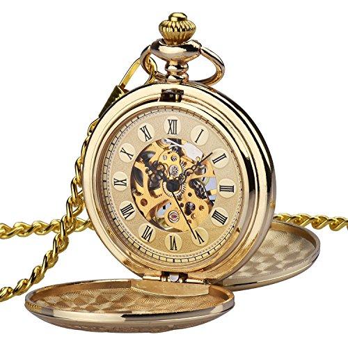 Reloj de bolsillo Steampunk de Zeiger