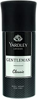 Yardley Gentleman Classic Body Spray for Men, 150ml