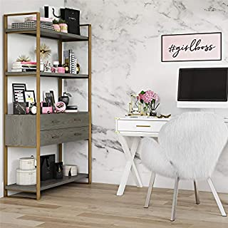 CosmoLiving by Cosmopolitan Alfie Bookcase Gold (B07P23MG3V) | Amazon price tracker / tracking, Amazon price history charts, Amazon price watches, Amazon price drop alerts
