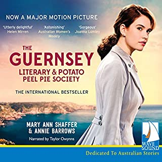 The Guernsey Literary and Potato Peel Pie Society                   By:                                                                                                                                 Mary Ann Shaffer                               Narrated by:                                                                                                                                 Taylor Owynns                      Length: 8 hrs and 19 mins     80 ratings     Overall 4.5