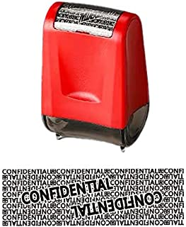 WAFJAMF Roller Stamp Identity Theft Stamp Perfect for Privacy Protection(red)
