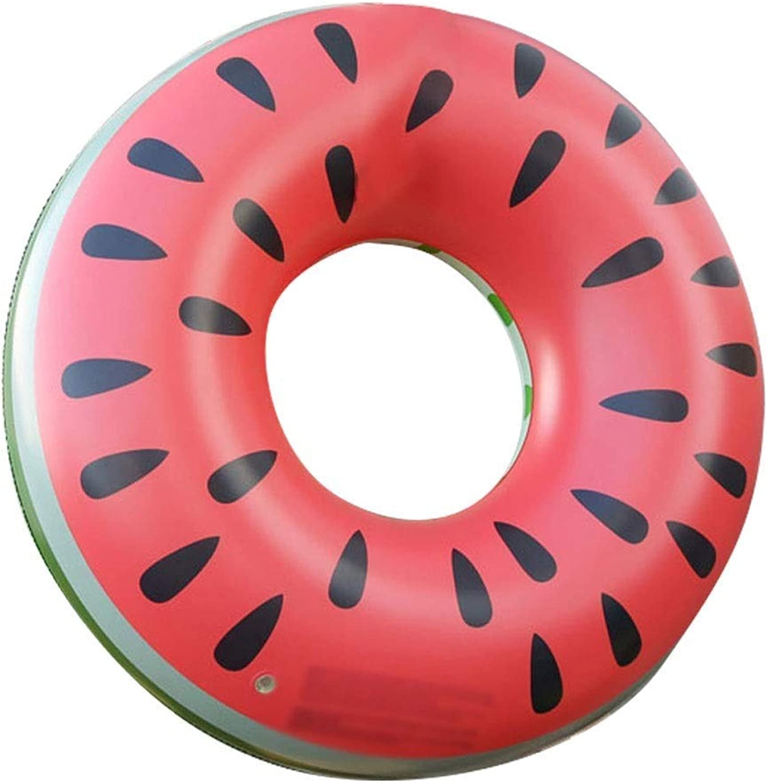 EGCLJ Schwimmring Spielzeug - Lounger Tube Float Pool Spielzeug - Schwimmring - Kinder Dicker Unterarm Rettungsring - Für Kinder, Erwachsene (Farbe   rot)