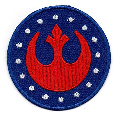 Parche para planchar con diseño de Star Wars, Escuadrón Rojo (Alianza Rebelde), para coser o coser