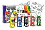 Fenstermalfarben Starterset von Ahrenshof, Grundausstattung Window Colors