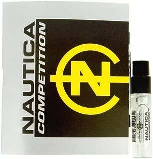 NAUTICA COMPETITION Eau de Toilette EDT Cologne for Men ~ .05 fl. oz. / 1.5 ml Carded Travel Spray Vial
