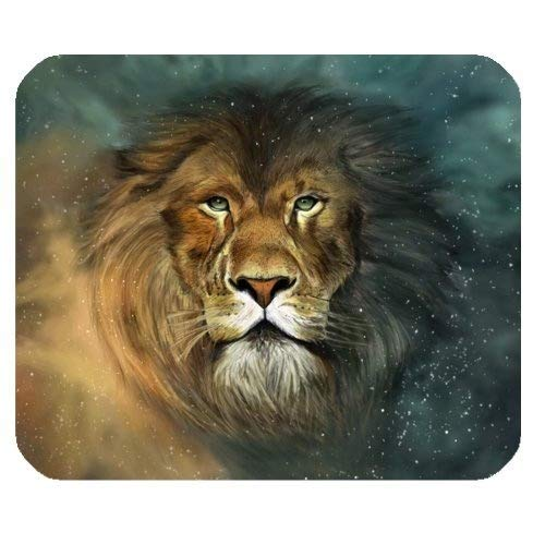 Yanteng Mouse Pad da Gioco, Gaming Mousepad - The King of Forest - Mouse Pad Mouse rettangolo