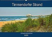 Timmendorfer Strand - Urlaubsimpressionen (Wandkalender 2022 DIN A2 quer): 12 zauberhafte Fotografien der Gemeinde Timmendorfer Strand begleiten Sie durchs Jahr (Geburtstagskalender, 14 Seiten )