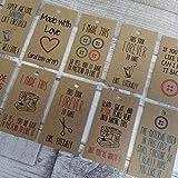 Stationery Geek Honest Geschenkanhänger – Nähen – 30 Stück