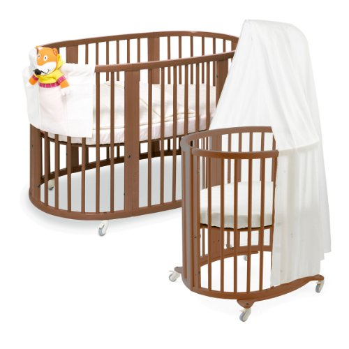 Hot Sale Stokke Sleepi System, Walnut Brown