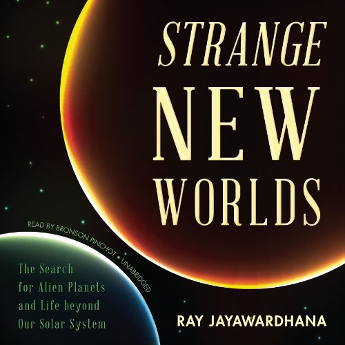 Strange New Worlds audiobook cover art