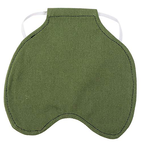 TOPINCN Pet Feather Protection Fixer Back Wing Protector Cloth Hen Chicken Saddle Apron Double Jacket(Green)