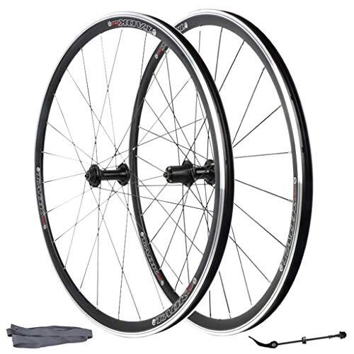 Tru-build Wheels RGR947 Rueda Trasera para Bicicleta tama/ño 700 C Color Plateado