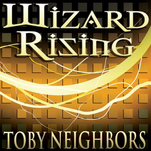 Wizard Rising audiobook cover art