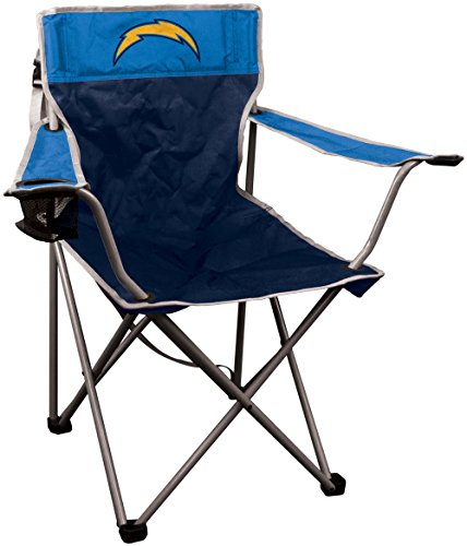 RAWLINGS NFL Portable Canvas Folding Kickoff Chair with Cup Holder and Carrying Case