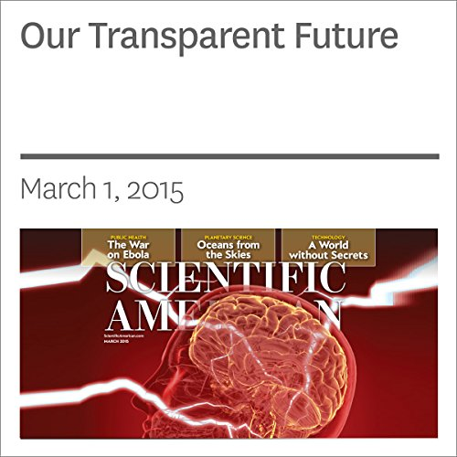 Our Transparent Future audiobook cover art