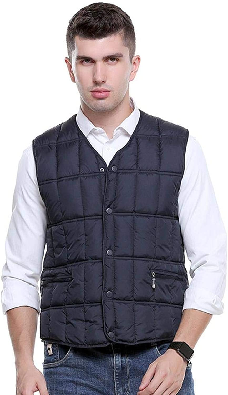 Men's Heated Vest Electric Heating Vest USB Safety Intelligent Thermostat
