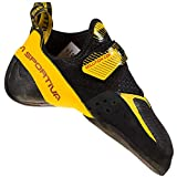 LA SPORTIVA Solution Comp, Scarpe da Trekking Uomo, Black/Yellow, 41.5 EU