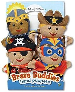 BRAVE BUDDIES hand puppets, Melissa And Doug