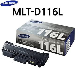 Samsung MLT-D116L Black Toner (3,000 pages) High Yield Toner for SL-M2825DW, SL-M2875FD/FW, SL-M2835DW, SL-M2885FW,