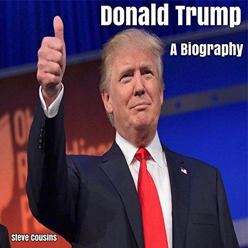 Donald Trump audiobook cover art