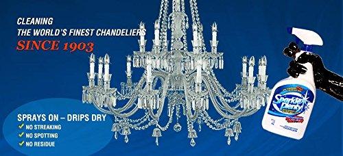 Sparkle Plenty Chandelier Crystal Cleaner 32oz Trigger Spray (1, Medium)