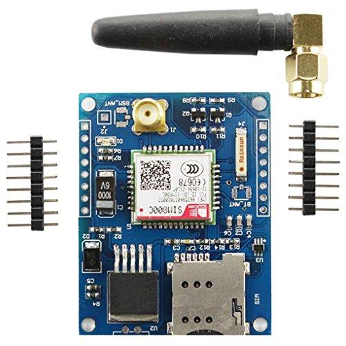 AntY✔GB SIM800L GPRS GSM Phone Module Card Board Quad-band Onboard