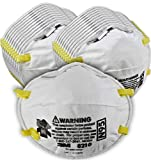 3M Personal Protective Equipment Particulate Respirator 8210, N95, Smoke, Dust, Grinding, Sanding, Sawing, Sweeping, 20/Pack