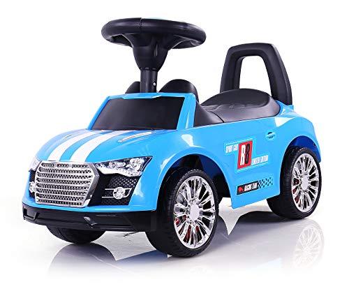 MILLY MALLY 2459–Antideslizante Auto Racer, Modelo de Coches, Color Azul