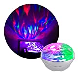 Projectables Northern Lights LED Projection Night Light with Moving Atmospheric Effects, 30404, Aurora Borealis Motion Effects Project Onto Wall and Ceiling,Multi