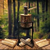 Firewood Kindling Splitter Wood Splitter Manual Log Splitter Firewood Distributor Cutter for Camping Household Cracker Christmas Birthday Gift for Men Father Husband