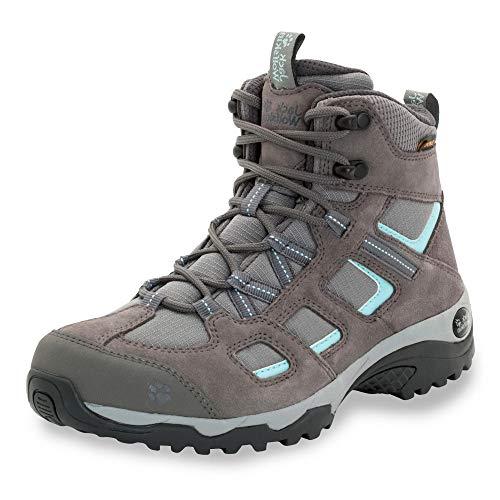 Jack Wolfskin Damen Vojo Hike 2 Texapore MID W Wasserdicht Trekking-& Wanderstiefel, Grau (Tarmac Grey 6011), 40.5 EU