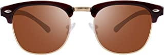 Polarized Sunglasses Semi Rimless Frame Brand Designer Classic Women Men Retro Sun Glasses TL6005