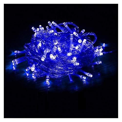 LIFEIYAN LED Fairy String Lights 10m~600m, 8 Modes Wire Lights Dissemble Firefly Rope Lights for Bedroom Wedding Party Indoor Decoration Festoon Lights (Color : Blue, Size : 500m5000leds)