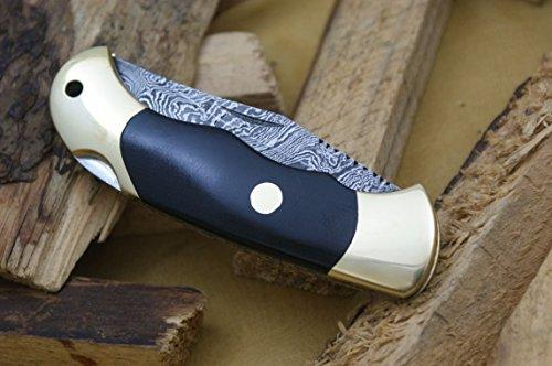 Knife King Couteau Damas fait à la main